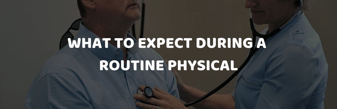 Doctor Doing Routine Physical